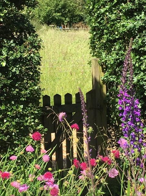 cottage garden gateway