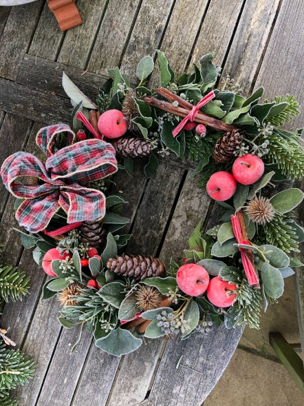 frosty wreath